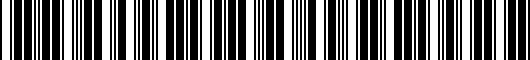 Barcode for PT2083397017