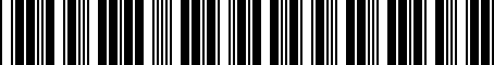 Barcode for 9030168005