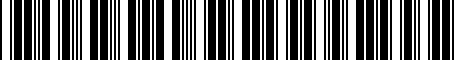 Barcode for 9046708108
