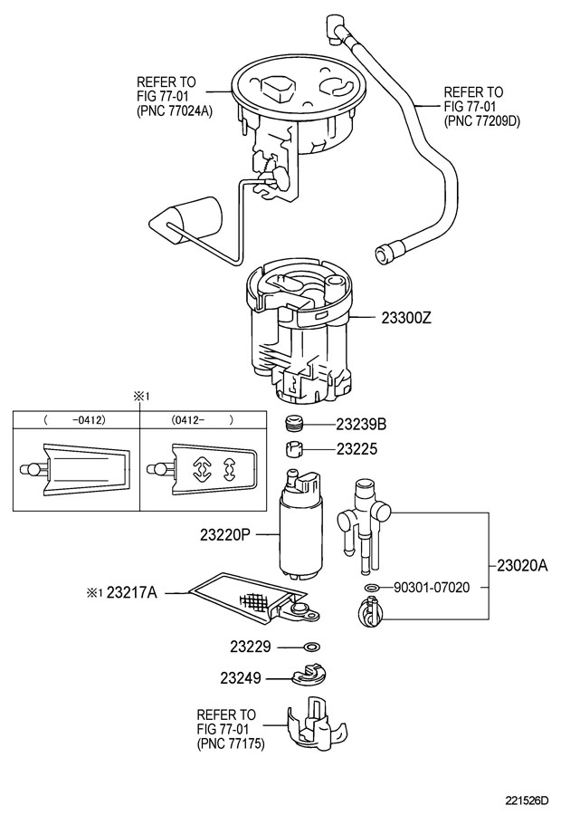 lexus ls430 fuel injection system