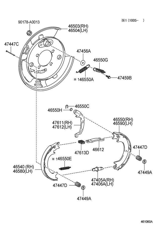 service manual  2010 lexus rx how to adjust parking brake