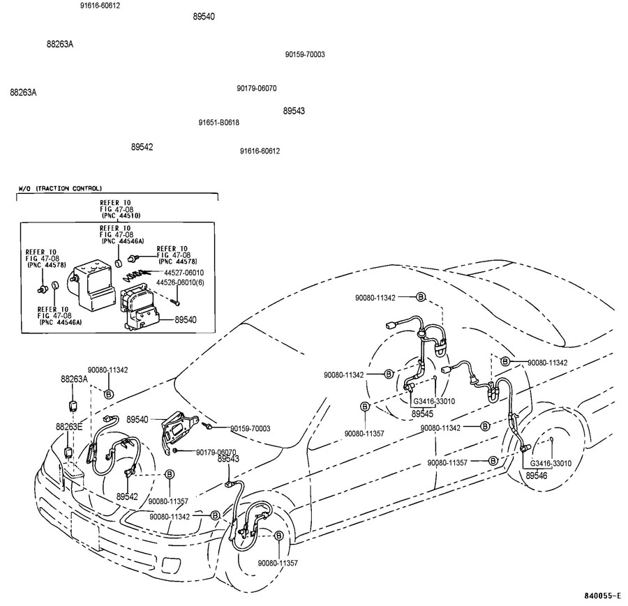 6z4nx Lexus Rx300 Difficult Replace Rear Wheel Bearing together with 91 C Floor Vent Not Closing 79624 additionally Fuse Box Diagram Lexus Rx300 further 434594 The Definitive Sc400 Exhaust Guide as well Lincoln Ls Front Suspension Diagram. on 2001 lexus is300 parts diagram
