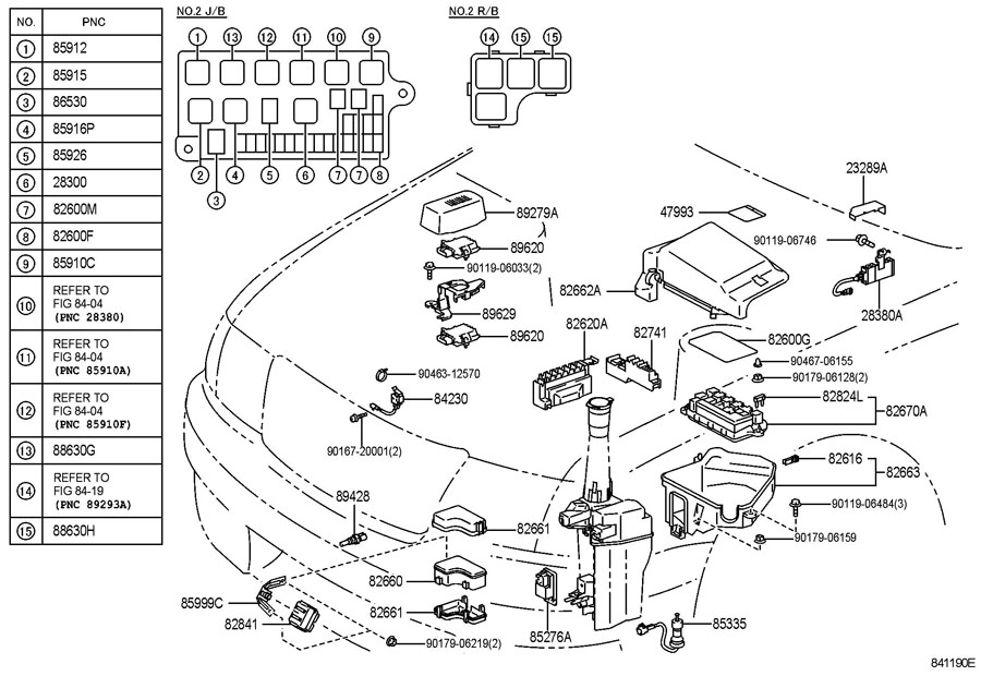1992 Lexus Fuse Box - Wiring Diagrams List