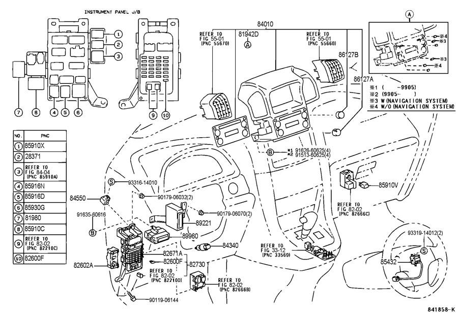1999 lexus rx300 switch  u0026 relay