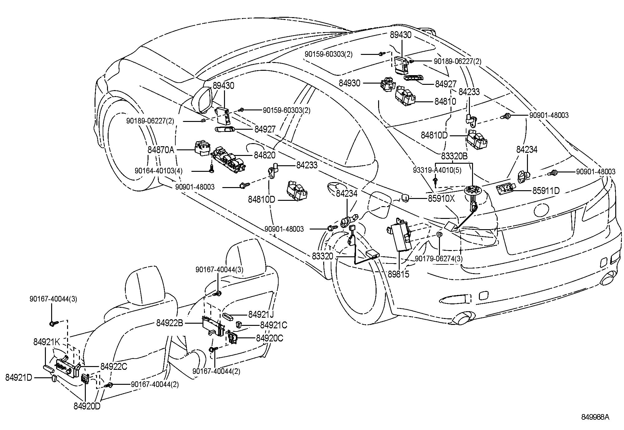 fuse box diagram 96 lexus gs300