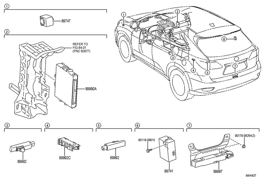 lexus rx350 standard wireless door lock. Black Bedroom Furniture Sets. Home Design Ideas