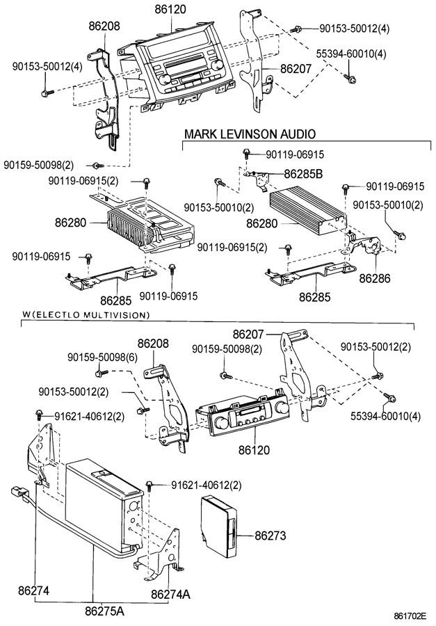 lexus radio receiver amplifier condenser. Black Bedroom Furniture Sets. Home Design Ideas