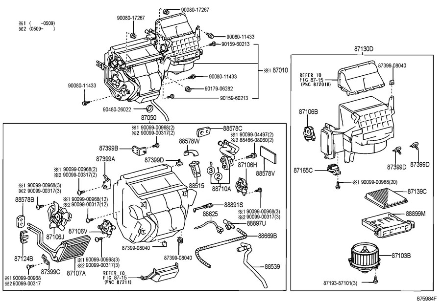 ShowAssembly on 2006 lexus rx330 parts diagram