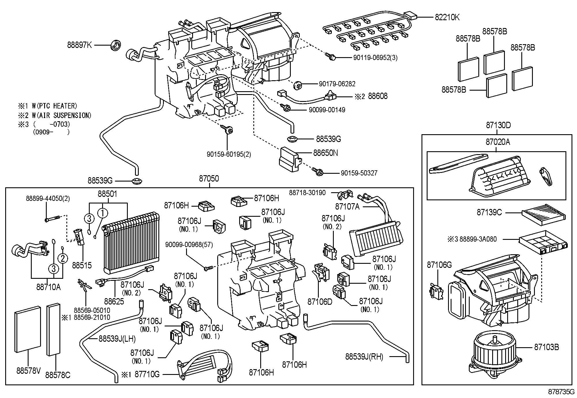 lexus heating  u0026 air conditioning