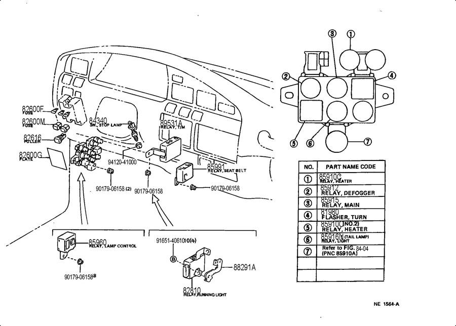 1996 lexus lx450 fuse box  lexus  auto fuse box diagram